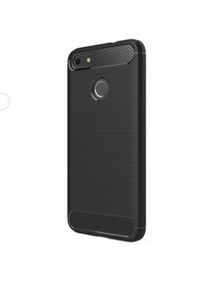 Ovitek silikonski za iPhone X/Xs | Back Case Carbon Črn
