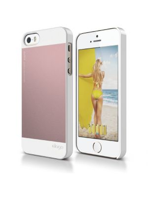 Ovitek za Apple iPhone 5/5S/SE Light Pink Outfit Case elago