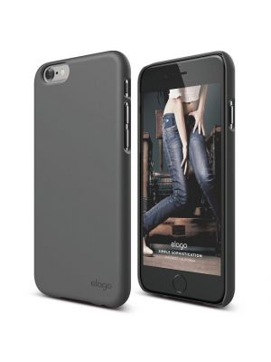 Ovitek za Apple iPhone 5/5S/SE Soft Dark Grey Slim Fit 2 Case elago
