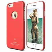 Ovitek za Apple iPhone 6/6s Slim Fit SVETLO RDEČ Elago