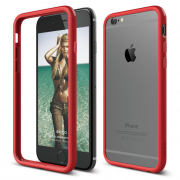 Ovitek obroba za Apple iPhone 6/6s RDEČ Bumper Elago