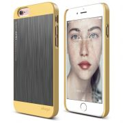 Ovitek za Apple iPhone 6/6S Elago Outfit Rumen/Srebrn