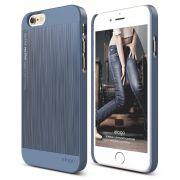 Ovitek za Apple iPhone 6/6s MODER (Royal Blue) videz kovine Outfit elago