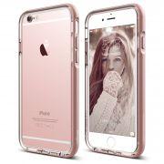 Ovitek obroba za Apple iPhone 6/6S Elago Aluminium Bumper Transparent/Rose Gold