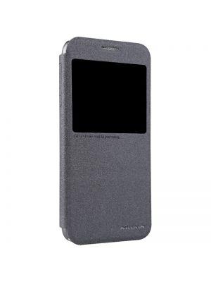 Preklopna torbica z okencem za HTC Desire 616 | Nillkin Black