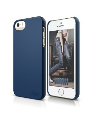 Apple iPhone 5/5S/SE | Ovitek Soft Jean Indigo Slim Fit 2 Case elago