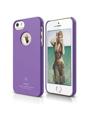 Ovitek za Apple iPhone 5/5S/SE Vijoličast Slim Fit Elago