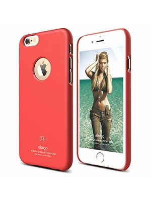 Apple iPhone 6/6s Slim Fit SVETLO RDEČ Elago