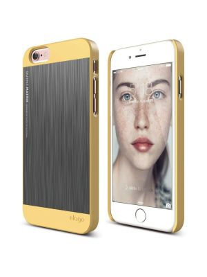 Apple iPhone 6/6S Elago Outfit Rumen/Srebrn