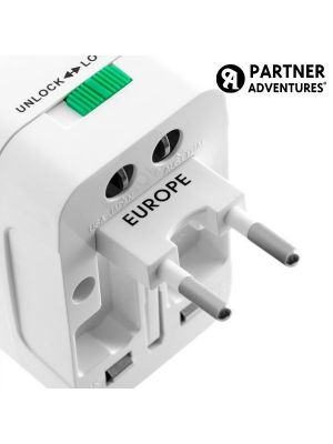 Adapter potovalni univerzalni (EU/USA/UK/AUS)
