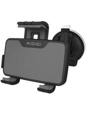 Avto nosilec s polnilcem za Android telefone micro USB (60-85mm) ČRN CU-01KiDiGi