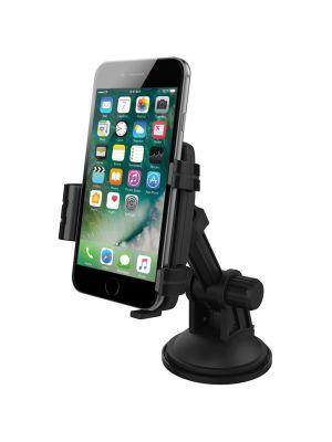 Avto nosilec s polnilcem za Apple telefone (60-85mm) ČRN CU-IP1A KiDiGi