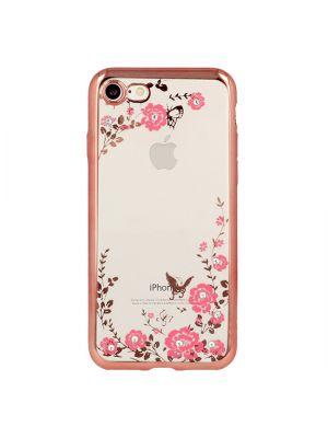 Apple iPhone 7/8/SE2 | Ovitek Back Case Flower Rose Gold