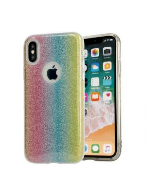 Apple iPhone X/Xs | Ovitek Bling Case Rainbow