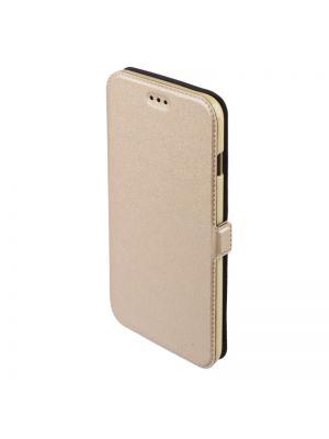 Preklopna torbica Telone Book Pocket za Samsung Galaxy J1/J100 Zlata