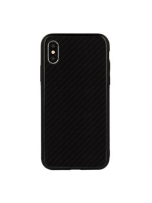 Samsung Galaxy A9 (2018) A920F | Ovitek Carbon Glass Case Black