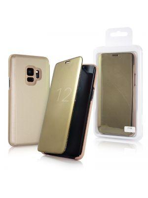 Samsung Galaxy S20 G980F | Ovitek Preklopni Clear View Zlat