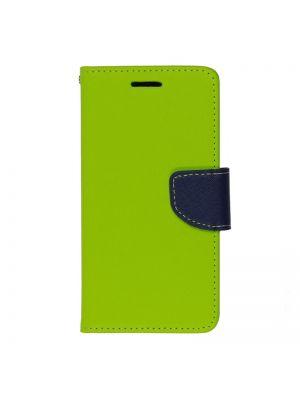 Preklopna torbica za Samsung Galaxy Ace II X/ Trend S7560 Zeleno Modra Fancy Flip