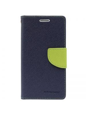 Ovitek Fancy za Sony Xperia Z3 Compact Modro Zelen Preklopni