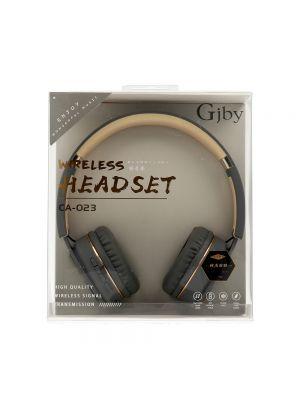 Slušalke naglavne brezžične | GJBY CA-023 Sive