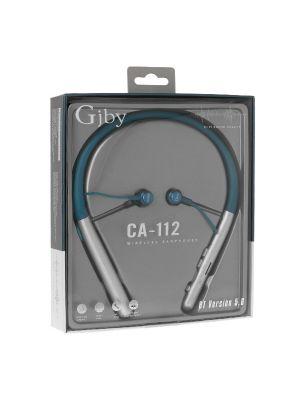 Slušalke ušesne brezžične, športne | GJBY CA-112 Modre