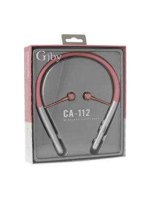 Slušalke ušesne brezžične, športne | GJBY CA-112 Pink