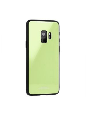 Ovitek trdi za Samsung Galaxy A6 (2018) A600F | Glass Case Lime