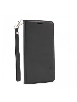 Preklopna torbica za iPhone X/Xs | Hanman Črna