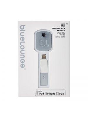 Obesek za ključe z kotektorjem za polnjenje Apple naprav | Bluelounge Kii