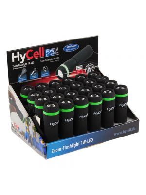 LED Svetilka HyCell 1W (3x AAA) Črna