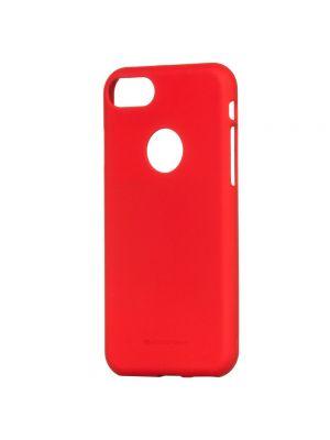 Ovitek silikonski za iPhone 6/6S | Mercury Soft Feeling Rdeč