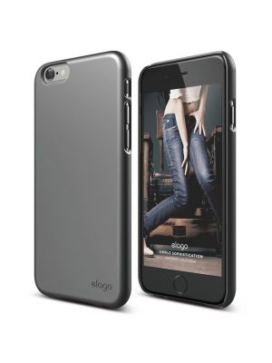 Apple iPhone 5/5S/SE | Ovitek Metallic Dark Grey Slim Fit 2 Case elago