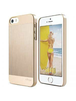 Ovitek trdi za iPhone 5/5S/SE Elago Outfit Matrix Gold