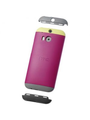 Ovitek trdi za HTC M8/ One PINK Double Dip Original