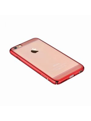 Ovitek trdi za iPhone 7 Comma Brightness Red