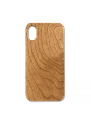 Ovitek za Apple iPhone X/Xs | Trendline Wood Cherry (Češnja)