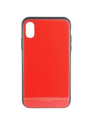 Ovitek trdi za iPhone X/Xs | Remax Yarose Case Rdeč