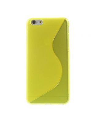 Ovitek silikonski za iPhone 5/5s S-line Rumen