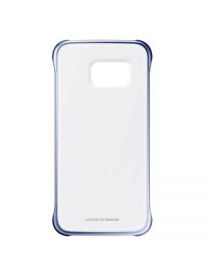 Ovitek za Samsung Galaxy S6 edge G925F PROZOREN s črnim robom Clear Cover Original