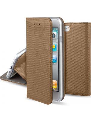 Huawei P10 | Ovitek Preklopni Magnet Book Art Gold