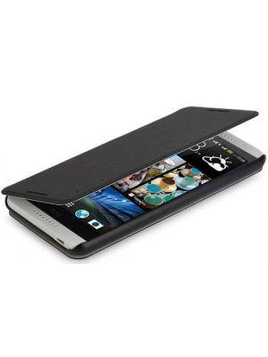 Preklopna torbica za HTC Desire 800/816 Črna Rock