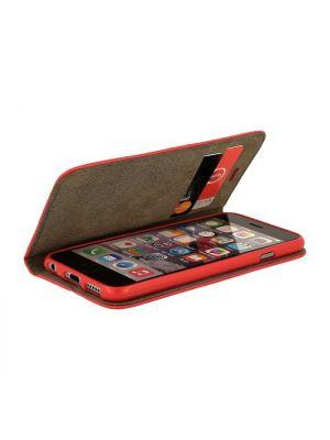 Samsung Galaxy J3 (2017) J330F | Ovitek Preklopni Magnet Book Case Rdeč