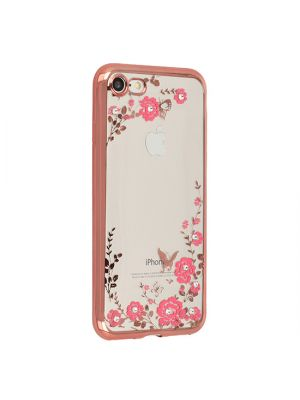 Ovitek za Samsung Galaxy S8+ G955F | Back Case Flower Rose Gold