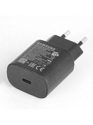 Polnilec Samsung EP-TA800XBE 25W s kablom Type-C na Type-C Črn