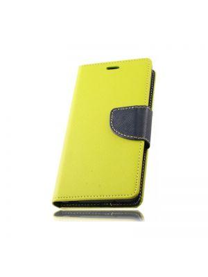 Preklopna torbica za HTC Desire 626 Zeleno Modra Fancy Flip