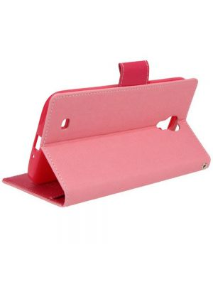 Preklopna torbica Fancy Flip za Sony Xperia Z3 Pink