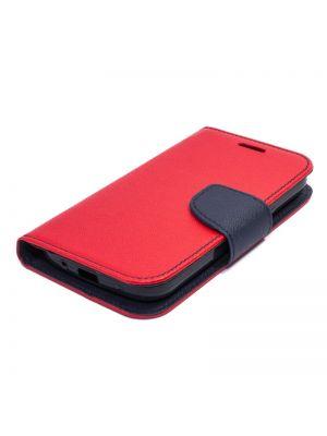 Preklopna torbica za Samsung Galaxy Core 2 / G355H | Fancy Flip Rdeče Modra