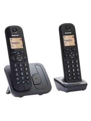 Hišni telefon - komplet (2 aparata) Panasonic KX-TGC212FXB