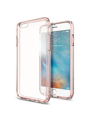 Ovitek aluminijasta obroba za iPhone 6/6S Comma Armor Bumper Rose Gold