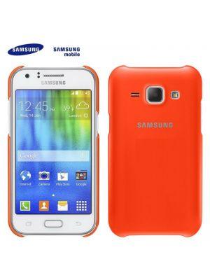 Ovitek Protective Cover Original za Samsung Galaxy J1 J100F Oranžen